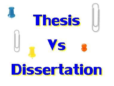 Statement of the problem in thesis